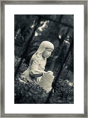 Georgia, Savannah, Bonaventure Framed Print