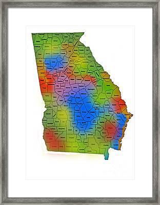 Georgia Framed Print by Skip Willits