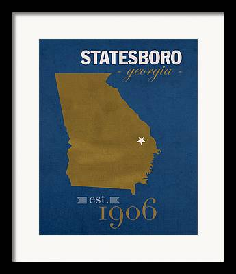 Southern Universities Framed Prints