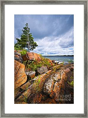 Georgian Bay Framed Print