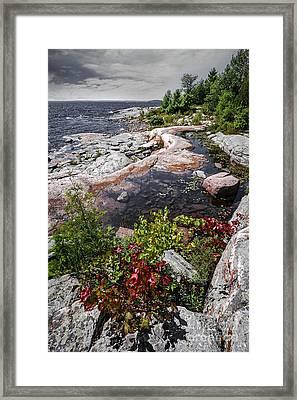 Georgian Bay IIi Framed Print