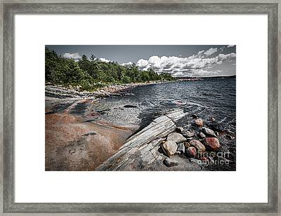 Georgian Bay V Framed Print