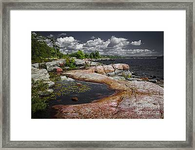 Georgian Bay Vii Framed Print