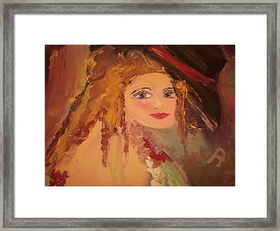 Georgiana Framed Print by Judith Desrosiers