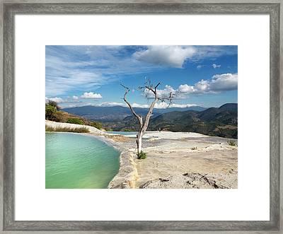 Geothermal Pool Framed Print by Daniel Sambraus