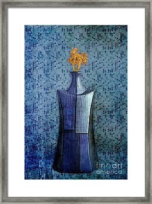 Geovase - 02at01a Framed Print by Variance Collections