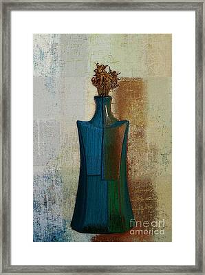 Geovase - 57jm01 Framed Print by Variance Collections