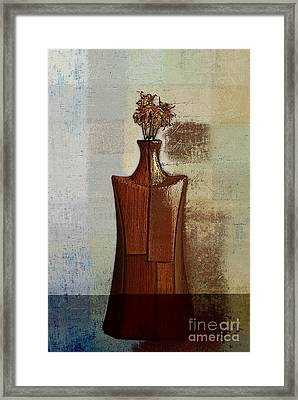 Geovase - J118073091a Framed Print by Variance Collections