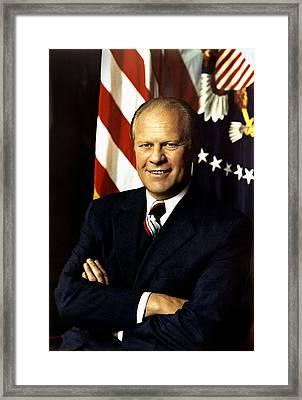 Gerald Ford Framed Print