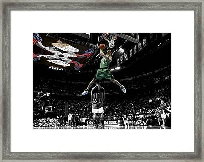 Gerald Green Framed Print by Brian Reaves