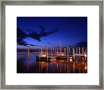 Framed Print featuring the photograph Geraldine Dyer Dunedin by Christopher McKenzie