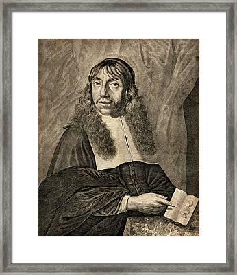 Gerard Blasius Framed Print by Chemical Heritage Foundation