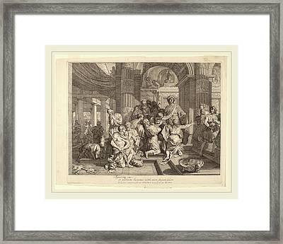 Gerard De Lairesse Dutch, 1641-1711, Joseph Reveals Himself Framed Print by Litz Collection