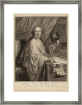 Gerard Edelinck After Chevalier Dumee Flemish Framed Print by Quint Lox