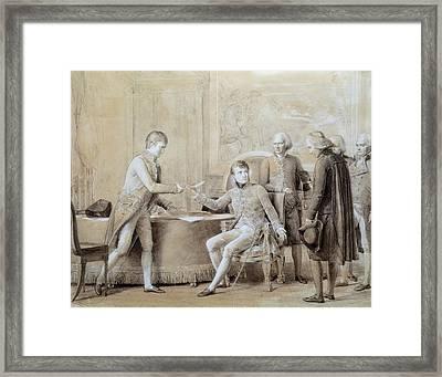 Gerard, Fran�ois 1770-1837. Signature Framed Print