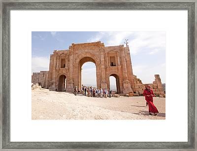 Gerasa Framed Print by Photostock-israel