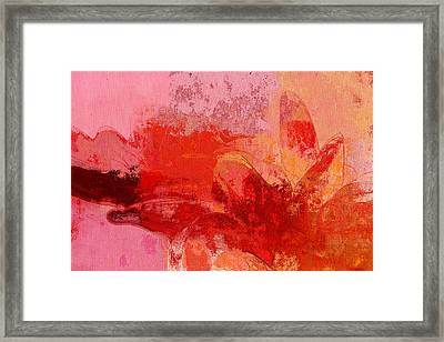 Gerberie - 221at02 Framed Print by Variance Collections