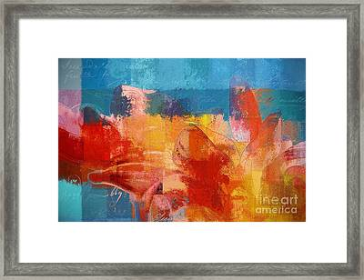 Gerberie - 3546b Framed Print by Variance Collections