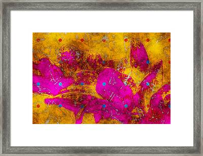 Gerberie - Fst01bca Framed Print by Variance Collections