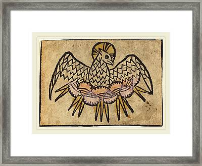 German 15th Century, The Holy Ghost Framed Print