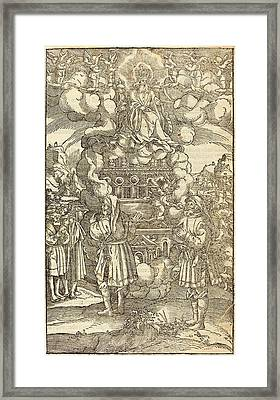 German 16th Century, The Apocalypse Framed Print