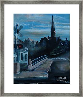 German Church Framed Print