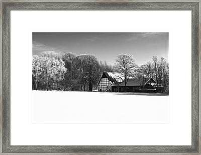 German Farmhouse Framed Print by Tarkan Rosenberg