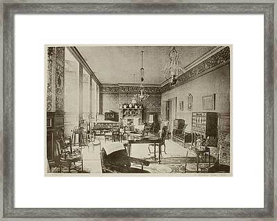 German Guide To English Architecture Framed Print
