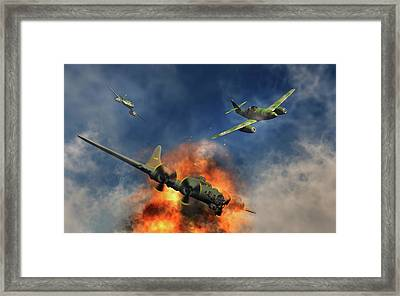 German Messerschmitt 262 Jetfighters Framed Print