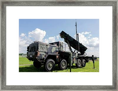German Patriot Surface-to-air Missile Framed Print