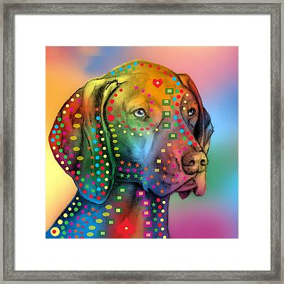 German Shorthair Pointer Framed Print