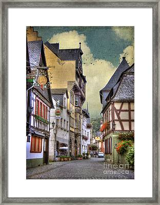 German Village Framed Print