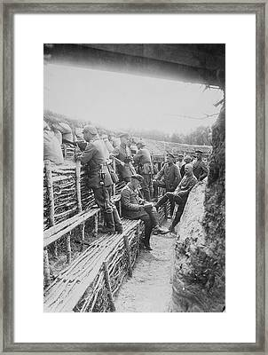 Germans In Rus, Poland Framed Print