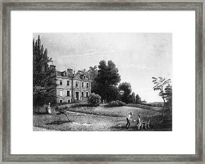 Germantown Chew House Framed Print