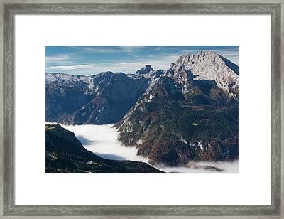 Germany, Bavaria, Obersalzberg, Alpine Framed Print by Walter Bibikow