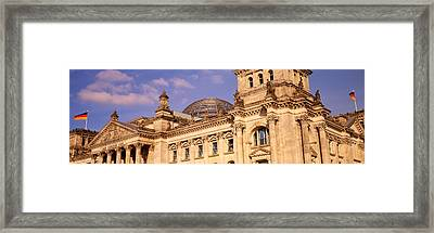 Germany, Berlin, Reichstag, Glass Dome Framed Print