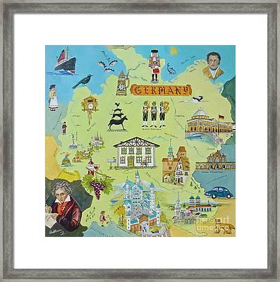 Germany Framed Print by Virginia Ann Hemingson