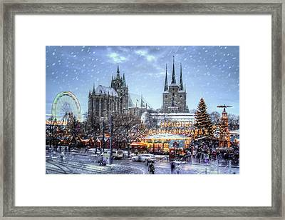 Germany X-mas Framed Print by Steffen Gierok