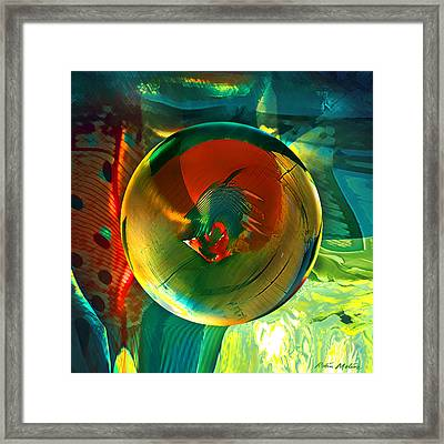 Framed Print featuring the painting Geronimo  by Robin Moline