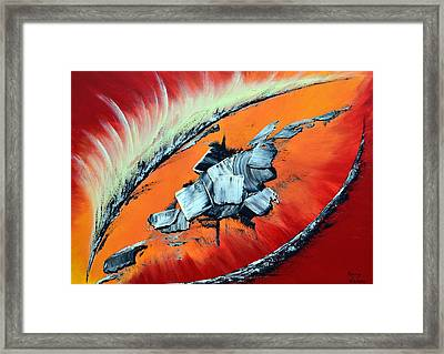Geronimo Framed Print by Thierry Vobmann