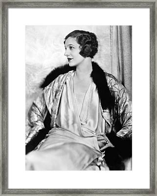Gertrude Lawrence (1898-1952) Framed Print by Granger