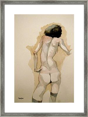 Gertrude Schiele Framed Print by Ray Agius