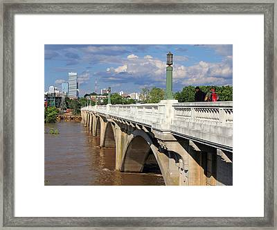 Gervais Street Bridge 1 Framed Print