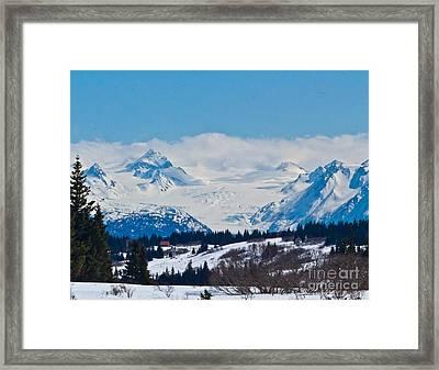 Gerwink Glacier Homer Ak Framed Print