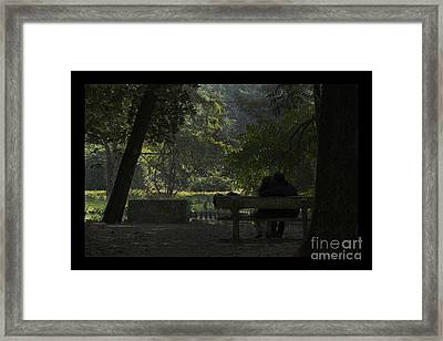 Romantic Moments Framed Print
