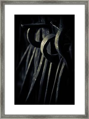Framed Print featuring the photograph Get A Grip... by Russell Styles