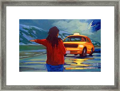 Get Me Home Framed Print by John Malone