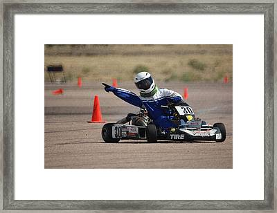 Get Out Of The Way Framed Print by Ernie Echols