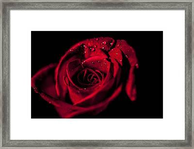 Get Red Framed Print
