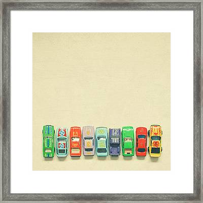 Get Set Go Framed Print by Cassia Beck